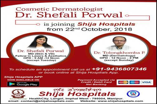 Dr. Shefali Porwal , Dermatologist
