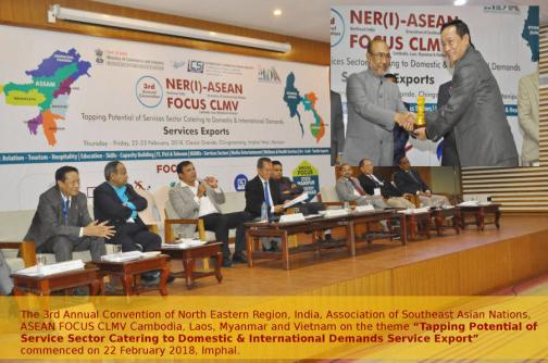 Tapping Potential of Service Sector Catering to Domestic & International Demands Service Export