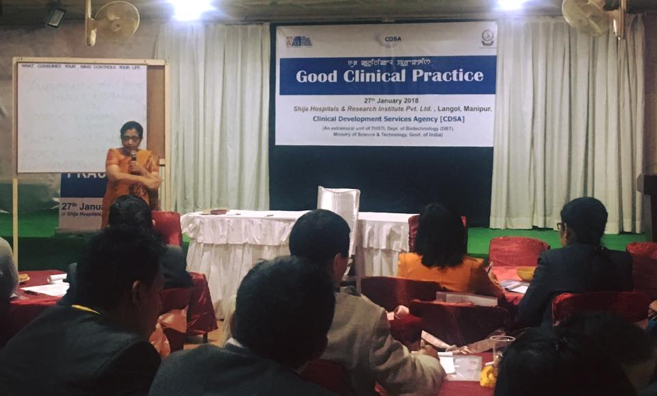 Dr. Pratibha Pereira from JSS Medical College