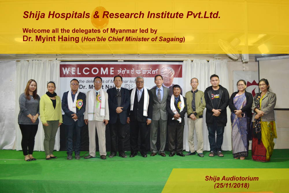 Shija Hospitals & Research Institute Healthcity Langol, Imphal-West